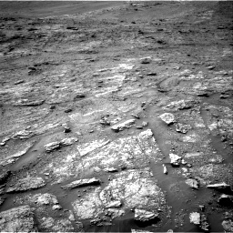 Nasa's Mars rover Curiosity acquired this image using its Right Navigation Camera on Sol 2463, at drive 1744, site number 76