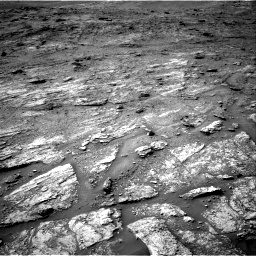 Nasa's Mars rover Curiosity acquired this image using its Right Navigation Camera on Sol 2463, at drive 1750, site number 76