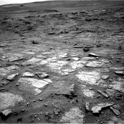Nasa's Mars rover Curiosity acquired this image using its Right Navigation Camera on Sol 2463, at drive 1780, site number 76