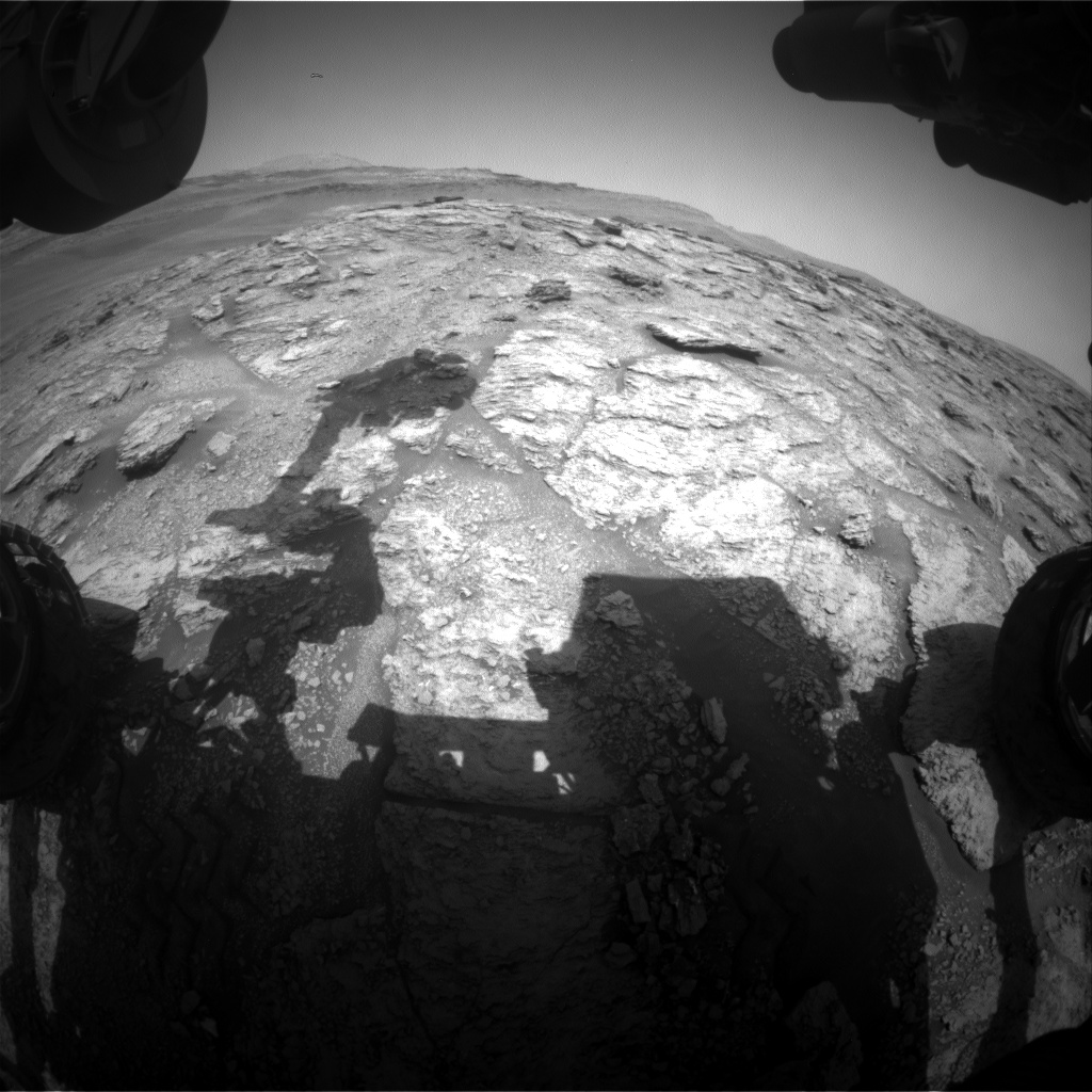 Nasa's Mars rover Curiosity acquired this image using its Front Hazard Avoidance Camera (Front Hazcam) on Sol 2464, at drive 1786, site number 76