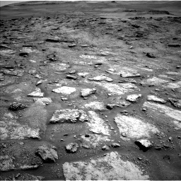 Nasa's Mars rover Curiosity acquired this image using its Left Navigation Camera on Sol 2466, at drive 1792, site number 76
