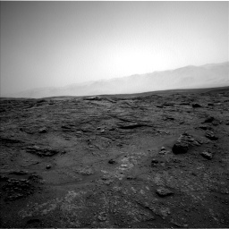 Nasa's Mars rover Curiosity acquired this image using its Left Navigation Camera on Sol 2466, at drive 1900, site number 76