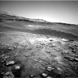 Nasa's Mars rover Curiosity acquired this image using its Left Navigation Camera on Sol 2466, at drive 1906, site number 76