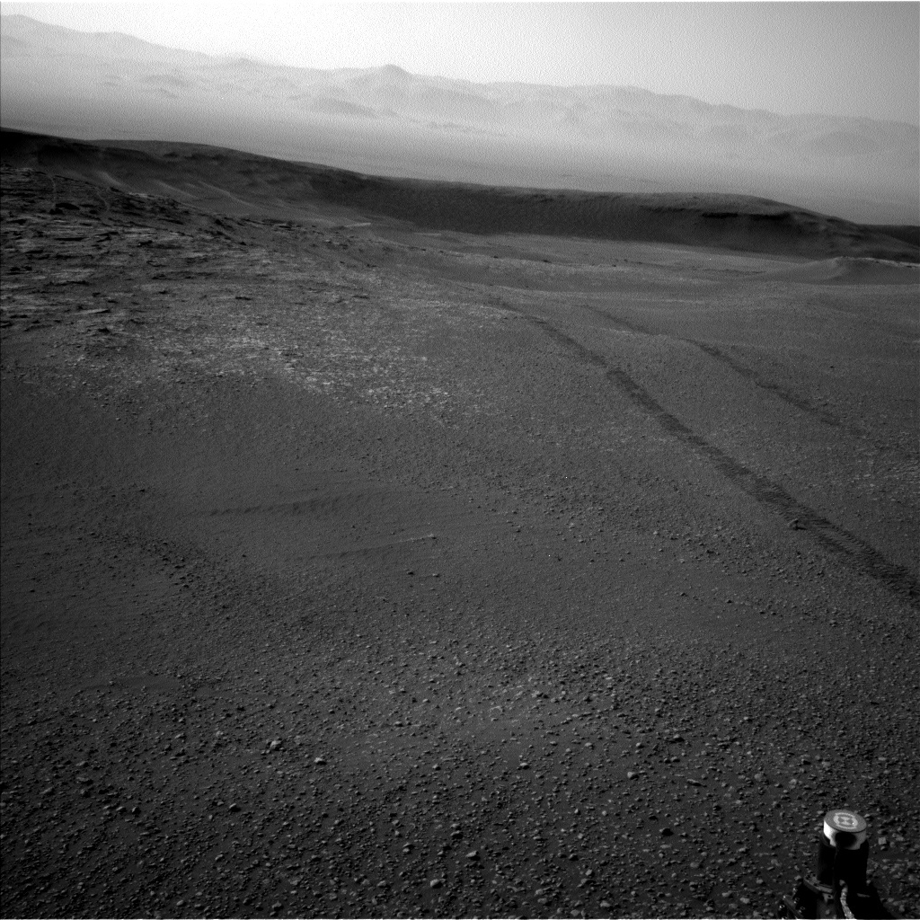 NASA's Mars rover Curiosity acquired this image using its Left Navigation Camera (Navcams) on Sol 2466