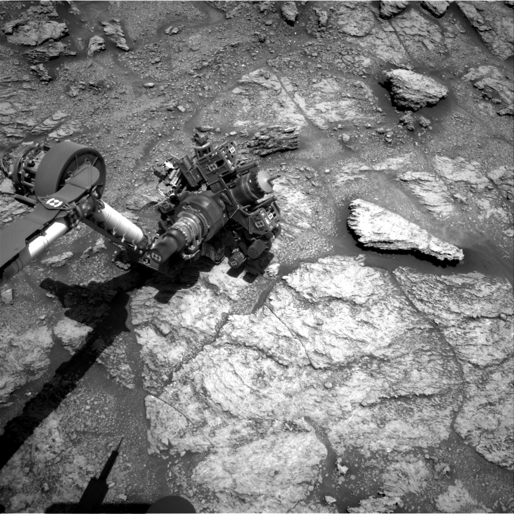 Nasa's Mars rover Curiosity acquired this image using its Right Navigation Camera on Sol 2466, at drive 1786, site number 76