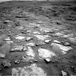 Nasa's Mars rover Curiosity acquired this image using its Right Navigation Camera on Sol 2466, at drive 1792, site number 76