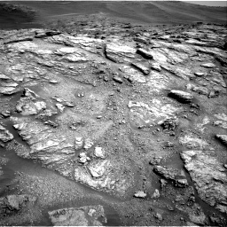 Nasa's Mars rover Curiosity acquired this image using its Right Navigation Camera on Sol 2466, at drive 1816, site number 76