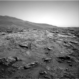 Nasa's Mars rover Curiosity acquired this image using its Right Navigation Camera on Sol 2466, at drive 1864, site number 76