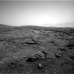 Nasa's Mars rover Curiosity acquired this image using its Right Navigation Camera on Sol 2466, at drive 1882, site number 76