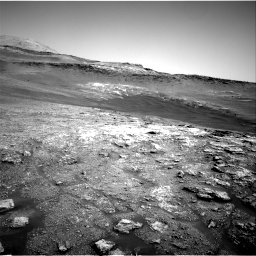 Nasa's Mars rover Curiosity acquired this image using its Right Navigation Camera on Sol 2466, at drive 1906, site number 76