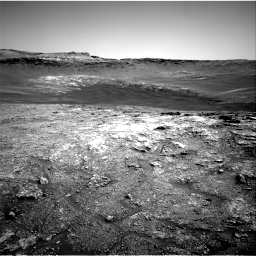 Nasa's Mars rover Curiosity acquired this image using its Right Navigation Camera on Sol 2466, at drive 1918, site number 76