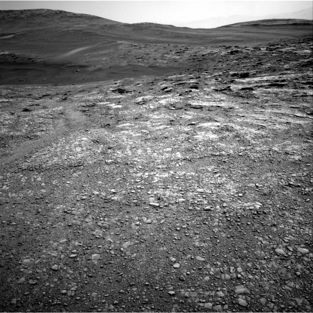 Nasa's Mars rover Curiosity acquired this image using its Right Navigation Camera on Sol 2466, at drive 1972, site number 76