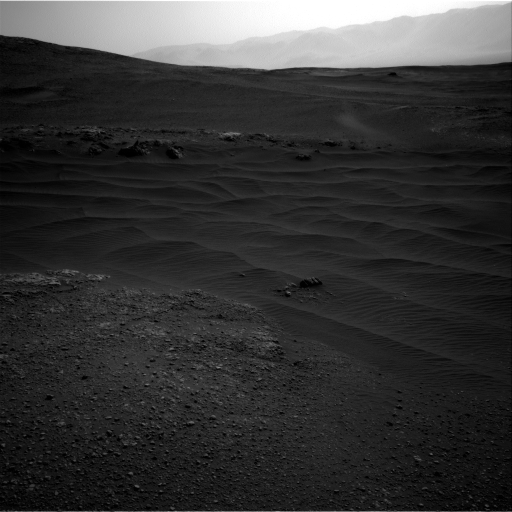 Nasa's Mars rover Curiosity acquired this image using its Right Navigation Camera on Sol 2466, at drive 2080, site number 76