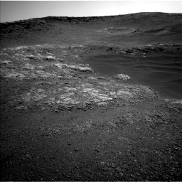 Nasa's Mars rover Curiosity acquired this image using its Left Navigation Camera on Sol 2468, at drive 2086, site number 76