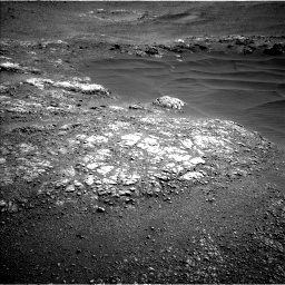Nasa's Mars rover Curiosity acquired this image using its Left Navigation Camera on Sol 2468, at drive 2104, site number 76