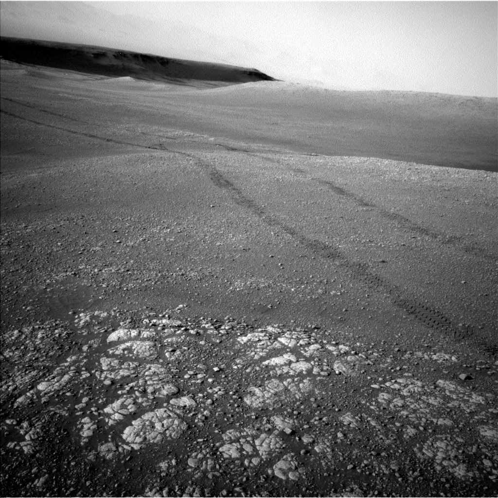 Nasa's Mars rover Curiosity acquired this image using its Left Navigation Camera on Sol 2468, at drive 2194, site number 76