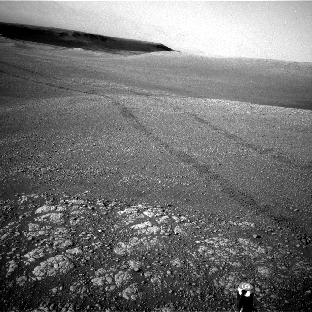 Nasa's Mars rover Curiosity acquired this image using its Right Navigation Camera on Sol 2468, at drive 2194, site number 76