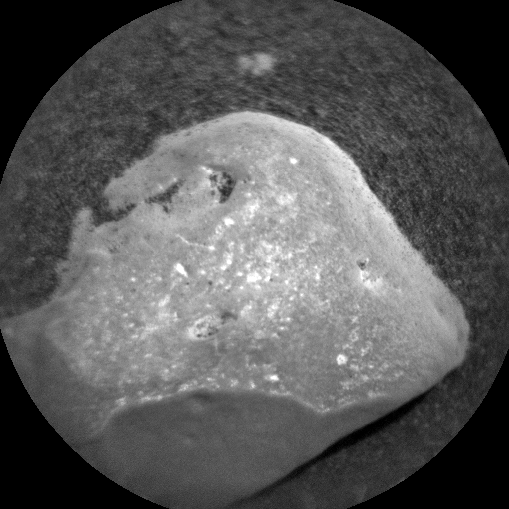 Nasa's Mars rover Curiosity acquired this image using its Chemistry & Camera (ChemCam) on Sol 2468, at drive 2080, site number 76