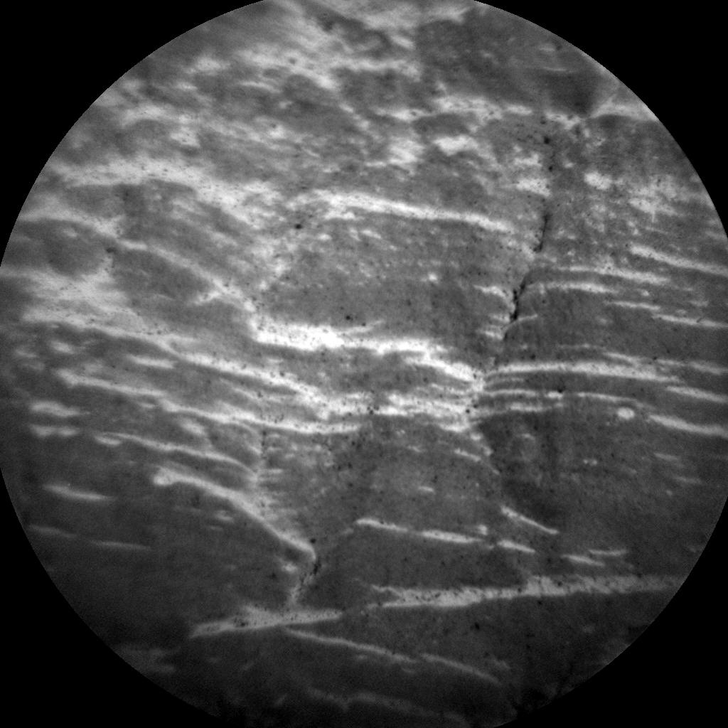 Nasa's Mars rover Curiosity acquired this image using its Chemistry & Camera (ChemCam) on Sol 2470, at drive 2194, site number 76