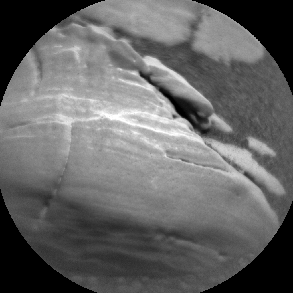 Nasa's Mars rover Curiosity acquired this image using its Chemistry & Camera (ChemCam) on Sol 2472, at drive 2194, site number 76