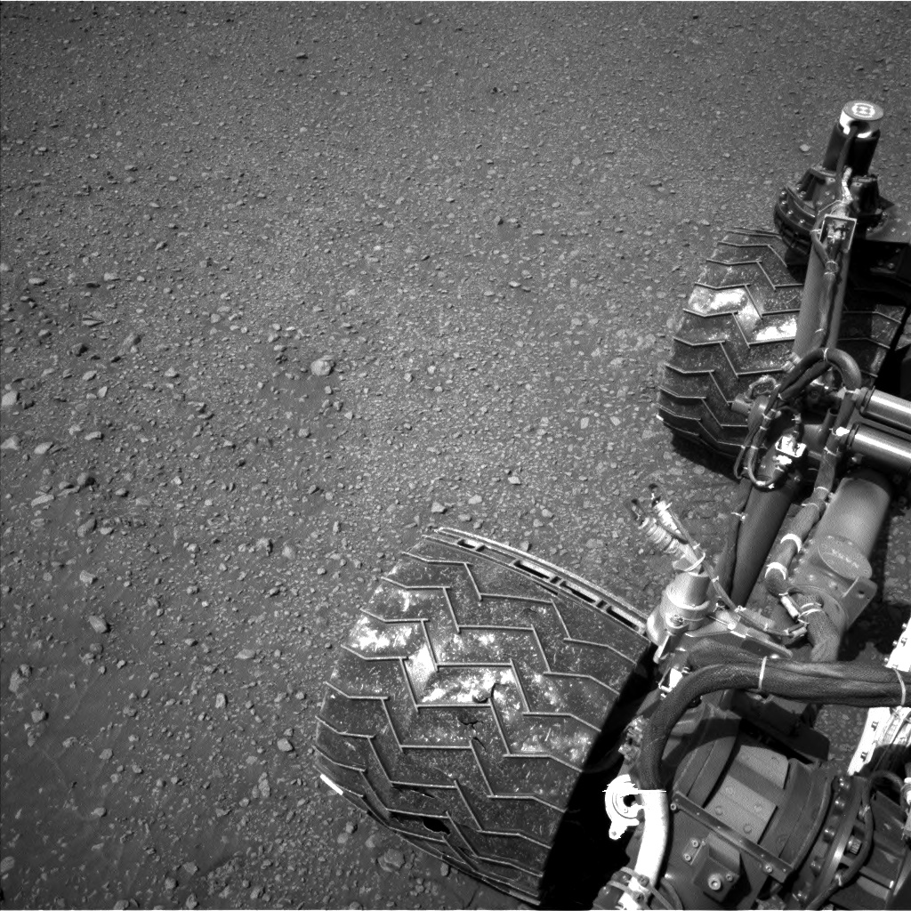 Nasa's Mars rover Curiosity acquired this image using its Left Navigation Camera on Sol 2473, at drive 2360, site number 76
