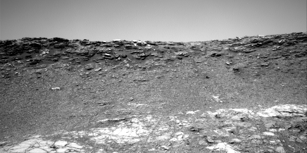 Nasa's Mars rover Curiosity acquired this image using its Right Navigation Camera on Sol 2473, at drive 2194, site number 76