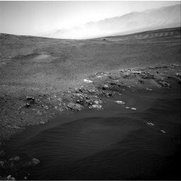 Nasa's Mars rover Curiosity acquired this image using its Right Navigation Camera on Sol 2473, at drive 2218, site number 76