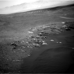 Nasa's Mars rover Curiosity acquired this image using its Right Navigation Camera on Sol 2473, at drive 2236, site number 76