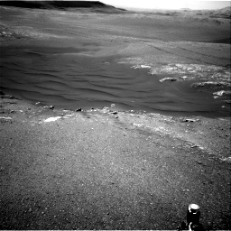 Nasa's Mars rover Curiosity acquired this image using its Right Navigation Camera on Sol 2473, at drive 2320, site number 76