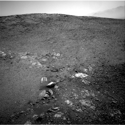 Nasa's Mars rover Curiosity acquired this image using its Right Navigation Camera on Sol 2473, at drive 2338, site number 76