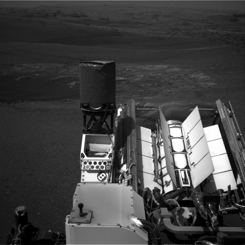 NASA's Mars rover Curiosity acquired this image using its Right Navigation Cameras (Navcams) on Sol 2473