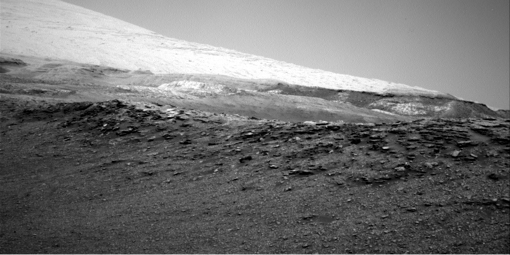 Nasa's Mars rover Curiosity acquired this image using its Right Navigation Camera on Sol 2473, at drive 2360, site number 76