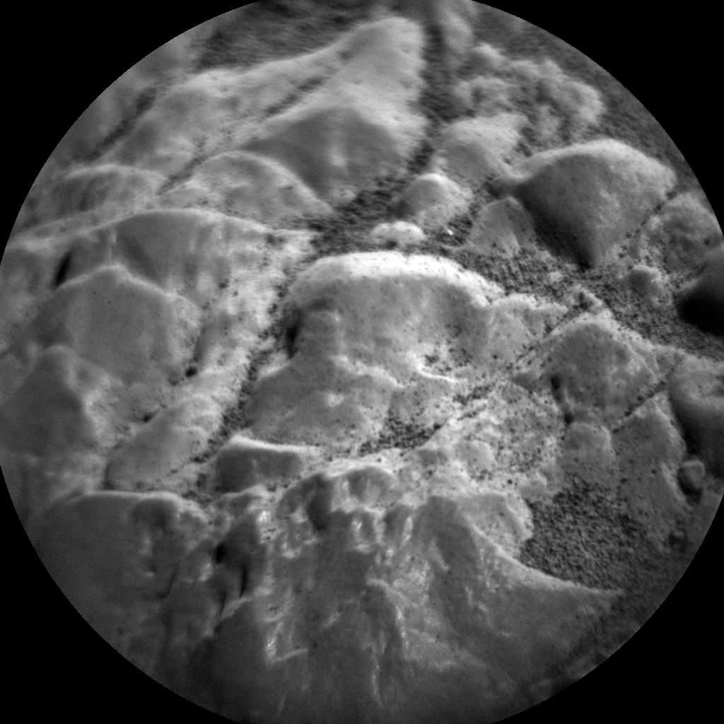 Nasa's Mars rover Curiosity acquired this image using its Chemistry & Camera (ChemCam) on Sol 2474, at drive 2360, site number 76