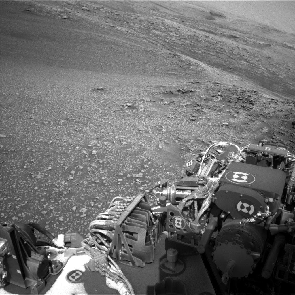 NASA's Mars rover Curiosity acquired this image using its Left Navigation Camera (Navcams) on Sol 2475