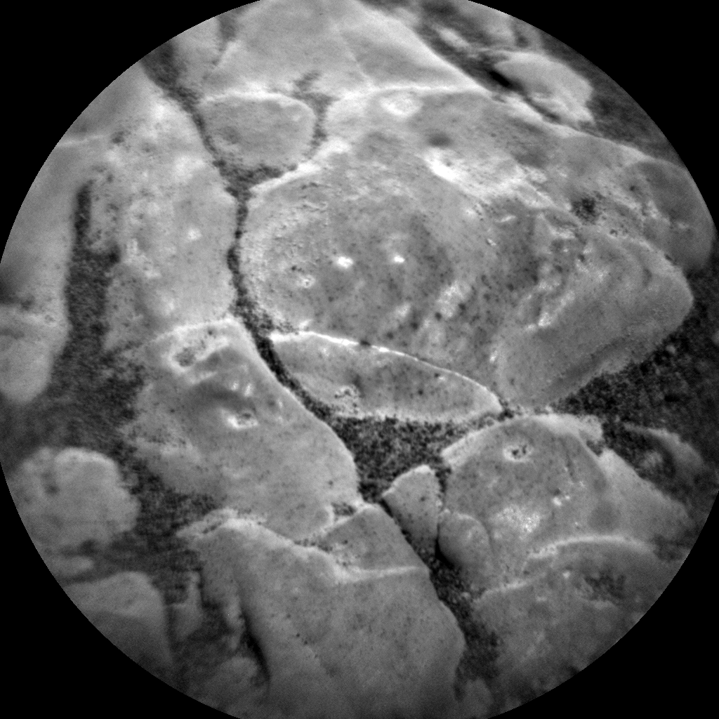 Nasa's Mars rover Curiosity acquired this image using its Chemistry & Camera (ChemCam) on Sol 2475, at drive 2360, site number 76