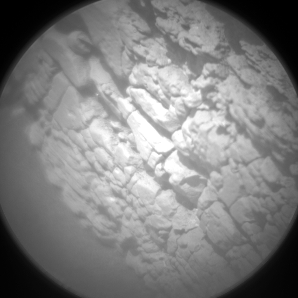 Nasa's Mars rover Curiosity acquired this image using its Chemistry & Camera (ChemCam) on Sol 2478, at drive 2810, site number 76