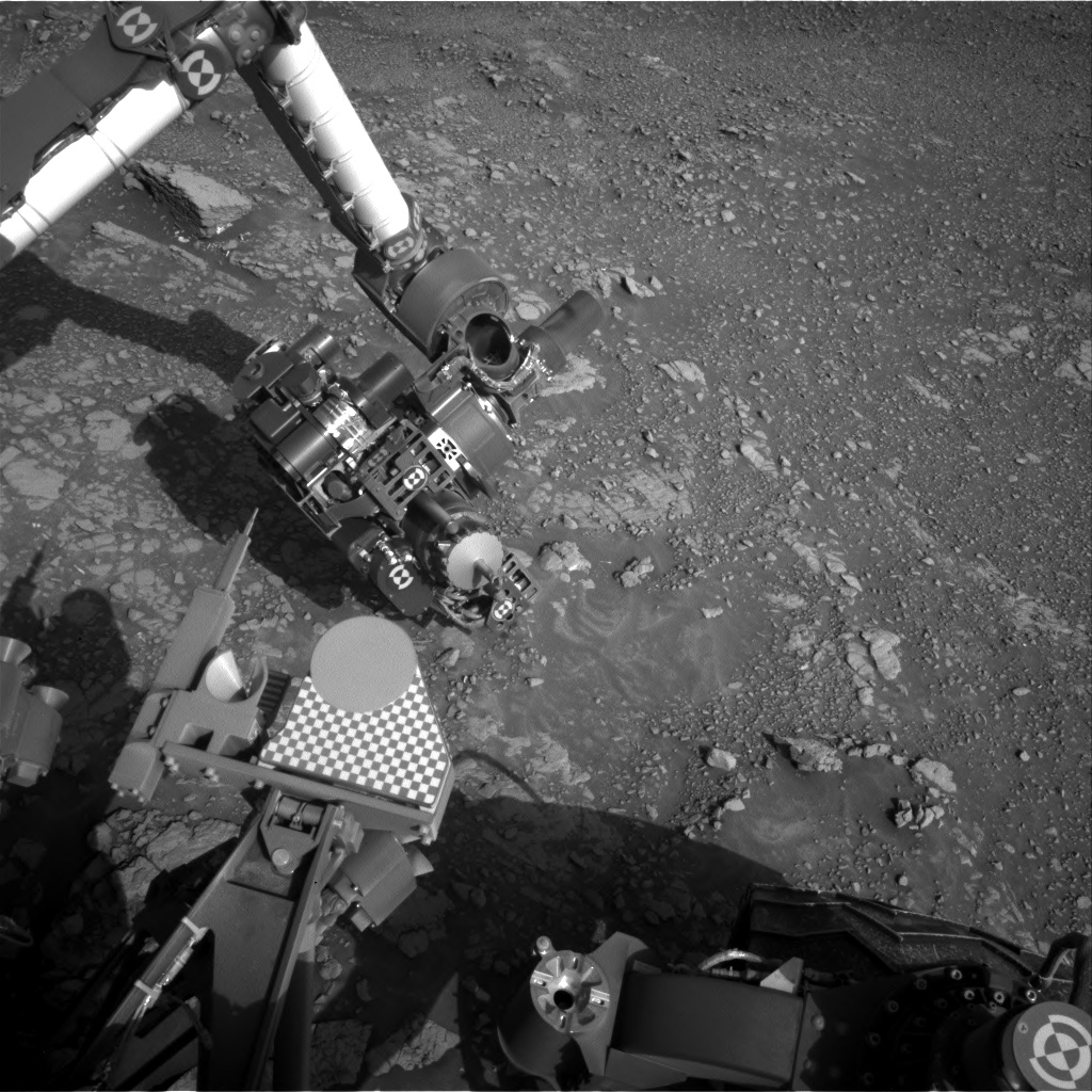 Nasa's Mars rover Curiosity acquired this image using its Right Navigation Camera on Sol 2478, at drive 2810, site number 76