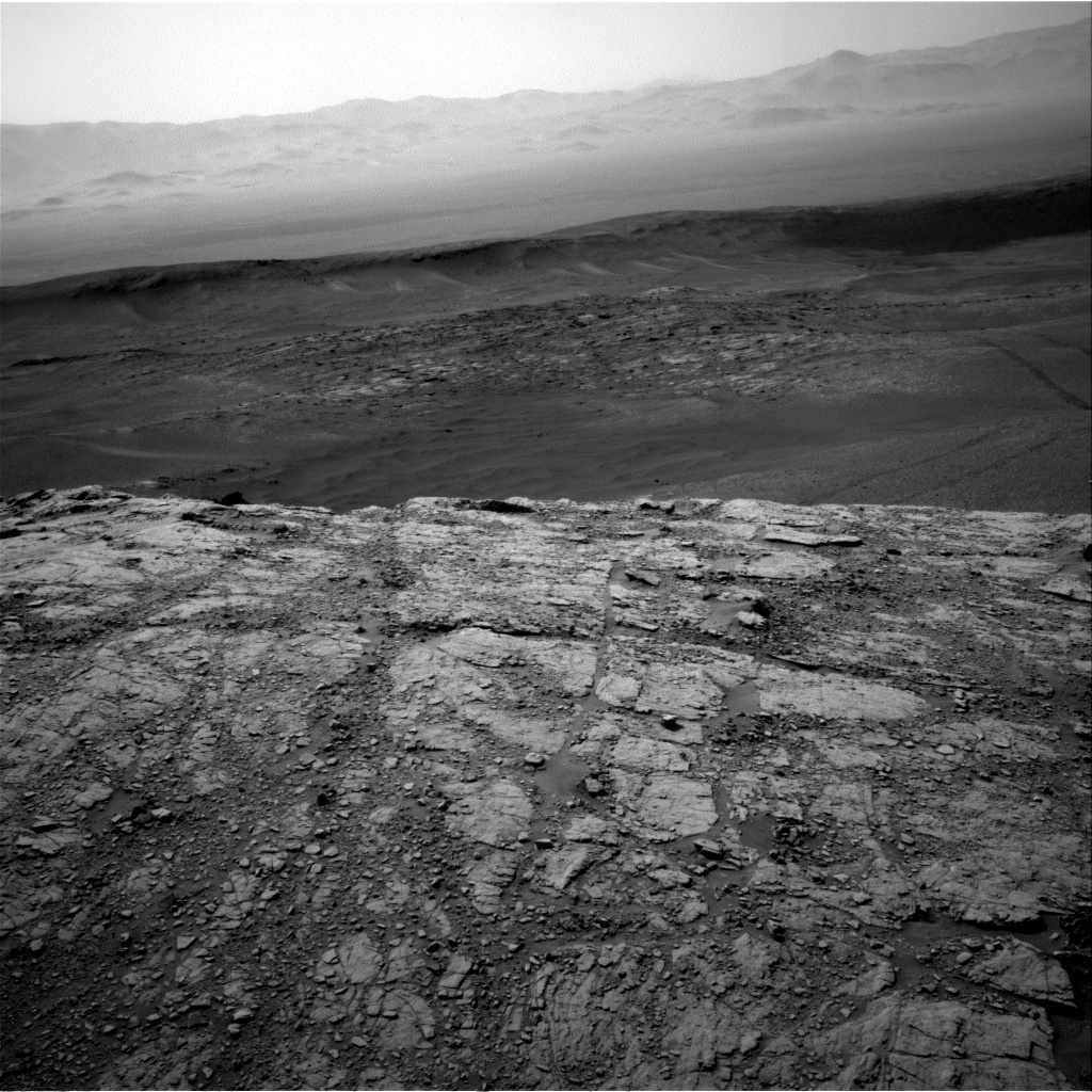 NASA's Mars rover Curiosity acquired this image using its Right Navigation Cameras (Navcams) on Sol 2480