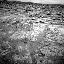 Nasa's Mars rover Curiosity acquired this image using its Left Navigation Camera on Sol 2481, at drive 2954, site number 76