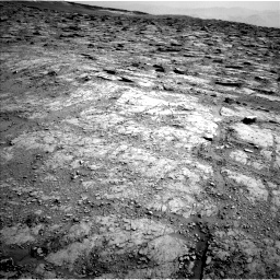 Nasa's Mars rover Curiosity acquired this image using its Left Navigation Camera on Sol 2481, at drive 2990, site number 76