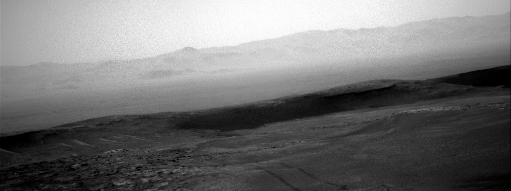 Nasa's Mars rover Curiosity acquired this image using its Right Navigation Camera on Sol 2481, at drive 2930, site number 76