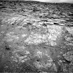 Nasa's Mars rover Curiosity acquired this image using its Right Navigation Camera on Sol 2481, at drive 2948, site number 76