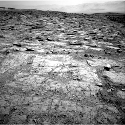 Nasa's Mars rover Curiosity acquired this image using its Right Navigation Camera on Sol 2481, at drive 2966, site number 76
