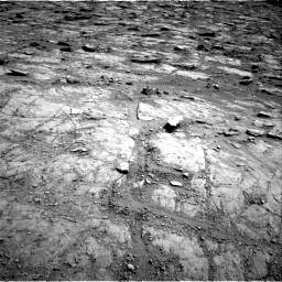 Nasa's Mars rover Curiosity acquired this image using its Right Navigation Camera on Sol 2481, at drive 2972, site number 76