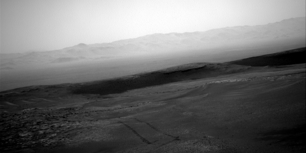 Nasa's Mars rover Curiosity acquired this image using its Right Navigation Camera on Sol 2482, at drive 3002, site number 76