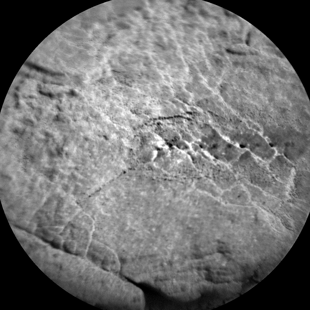 Nasa's Mars rover Curiosity acquired this image using its Chemistry & Camera (ChemCam) on Sol 2482, at drive 3002, site number 76