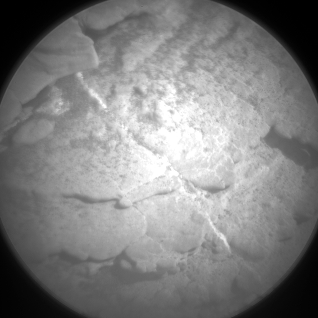 Nasa's Mars rover Curiosity acquired this image using its Chemistry & Camera (ChemCam) on Sol 2483, at drive 3002, site number 76