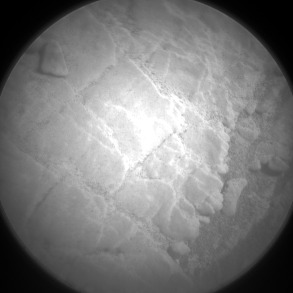 Nasa's Mars rover Curiosity acquired this image using its Chemistry & Camera (ChemCam) on Sol 2484, at drive 3002, site number 76