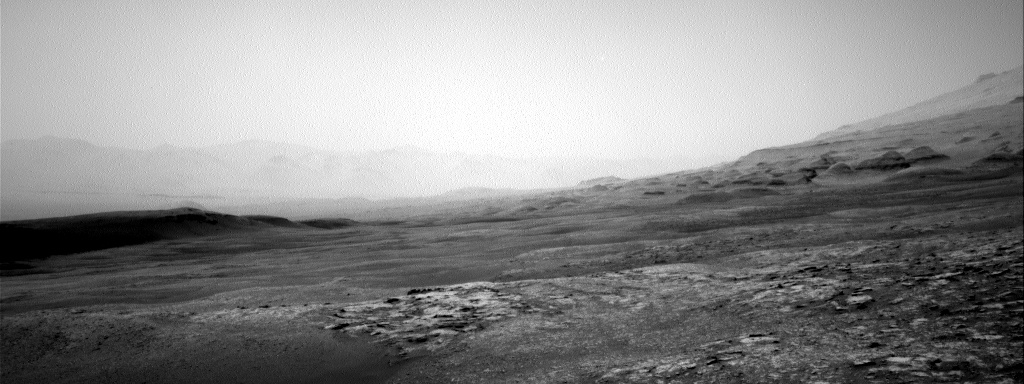 Nasa's Mars rover Curiosity acquired this image using its Right Navigation Camera on Sol 2484, at drive 3002, site number 76