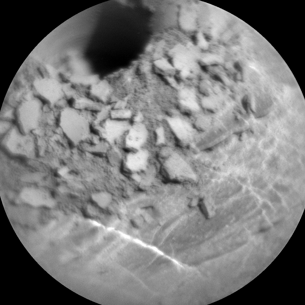 Nasa's Mars rover Curiosity acquired this image using its Chemistry & Camera (ChemCam) on Sol 2487, at drive 3002, site number 76